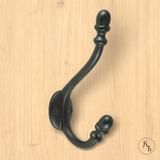 Kapstokhaak zwart Acorn